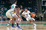 DENTON, TX JANUARY 27: University of North Texas Mean Green Men's basketball v Florida International University at Super Pit in Denton on January 27, 2018 in Denton, Texas (Photo: Rick Yeatts Photography/Colin Mitchell