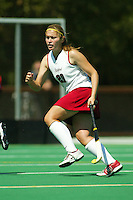 2 September 2005: Aska Sturdevan during Stanford's 3-1 loss to the University of Iowa at the Varsity Turf Field in Stanford, CA.