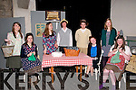 "Dancing At Lughnasa: The cast of St. John Teen Drama Group who performed ""Dancing At Lughnasa"" at St. John's Arts Centre, Listowel on Saturday & Sunday last. L-R: Jana Finnucane, Aoife Healy,Llaura Keane, Evan Murphy, Jack Denihan, Timara Kirby, Greta Buinovskaja &, Siobhan Keane."
