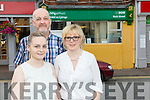 Rock Street Post Office is in danger of closing Austin Stacks GAA club are launching an initiative to support them Pictured Postmaster Marie Williams with family Martin Williams, Shauna Williams