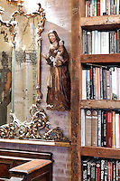 baroque gold mirror