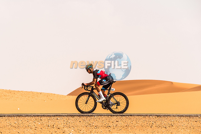 Irwandie Lakasek (MAS) Terengganu Inc. TSG Cycling Team in action during Stage 1 of the Saudi Tour 2020 running 173km from Saudi Arabian Olympic Committee to Jaww, Saudi Arabia. 4th February 2020. <br /> Picture: ASO/Kåre Dehlie Thorstad | Cyclefile<br /> All photos usage must carry mandatory copyright credit (© Cyclefile | ASO/Kåre Dehlie Thorstad)