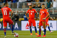 Action photo during the match Argentina vs Chile at Levis Stadium Copa America Centenario 2016. ---Foto  de accion durante el partido Argentina vs Chiler, En el Estadio de la Universidad de Phoenix, Partido Correspondiante al Grupo - D -  de la Copa America Centenario USA 2016, en la foto: Alexis Sanchez<br /> --- 06/06/2016/MEXSPORT/PHOTOSPORT/ Andres Pina