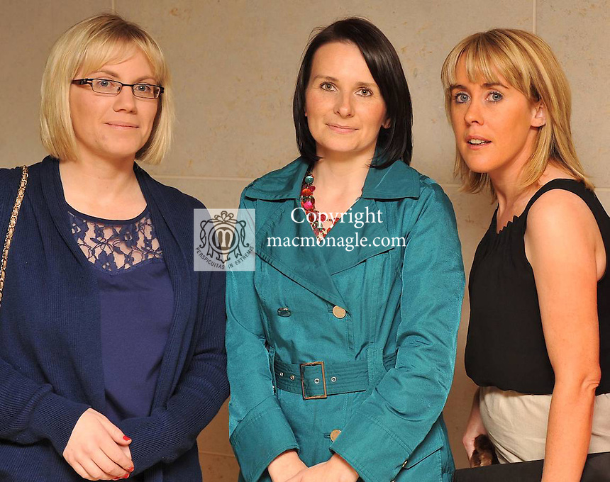 Triona Brosnan, Marguerite Herlihy and Stephanie Lane at the Fossa Community Centre Annual fashion extravaganza at The Hotel Europe Killarney on Wednesday night. Picture: Eamonn Keogh ( MacMonagle, Killarney)