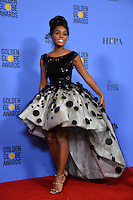 Janelle Monae at the 74th Golden Globe Awards  at The Beverly Hilton Hotel, Los Angeles USA 8th January  2017<br /> Picture: Paul Smith/Featureflash/SilverHub 0208 004 5359 sales@silverhubmedia.com