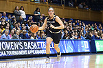 DURHAM, NC - FEBRUARY 04: Notre Dame's Marina Mabrey. The Duke University Blue Devils hosted the University of Notre Dame Fighting Irish on February 4, 2018 at Cameron Indoor Stadium in Durham, NC in a Division I women's college basketball game. Notre Dame won the game 72-54.