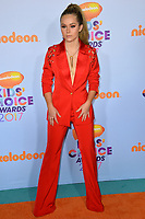 Actress Brec Bassinger at the Nickelodeon 2017 Kids' Choice Awards at the USC's Galen Centre, Los Angeles, USA 11 March  2017<br /> Picture: Paul Smith/Featureflash/SilverHub 0208 004 5359 sales@silverhubmedia.com