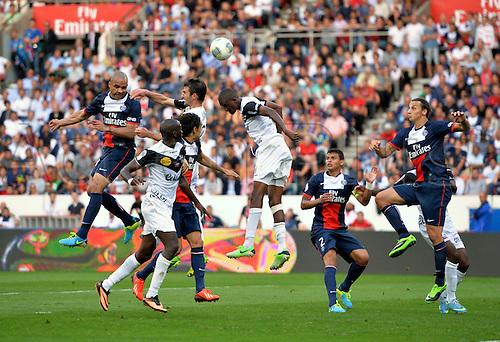 31.08.2013. Paris, France. French League football. Paris St Germain versus Guingamp Aug 31st.  Alex (psg)