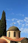 Israel, Galilee, the Greek Orthodox St. George Church in Kafr Cana