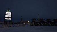 Happy Horse Pad, location of Cruz Construction's office in Deadhorse, Alaska.
