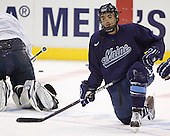 Wes Clark - The University of Maine Black Bears practiced on Wednesday, April 5, 2006, at the Bradley Center in Milwaukee, Wisconsin, in preparation for their April 6 2006 Frozen Four Semi-Final game versus the University of Wisconsin.