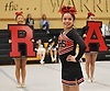 Syosset performs during the Nassau County varsity cheerleading championships at Wantagh High School on Sunday, Feb. 25, 2018.