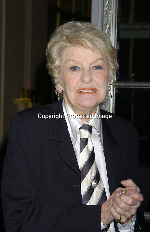 Elaine Stritch ..at The 30th Anniversary of The New Yorker for New York Awards on February 14, 2005 at The Waldorf Astoria Hotel...Photo by Robin Platzer, Twin Images