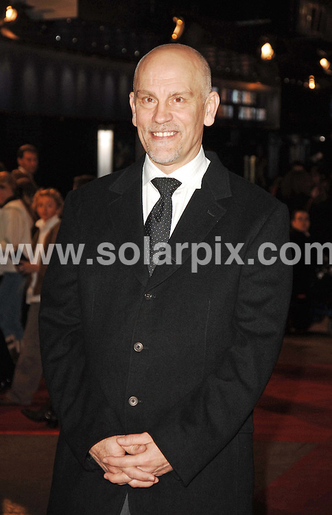 ALL ROUND PICTURES FROM SOLARPIX.COM.11.12.06 - John Malkovich - UK Premiere of Eragon - The Odeon - Leicester Square - London - Job Ref: 3153/FMF..MUST CREDIT SOLARPIX.COM OR DOUBLE FEE WILL BE CHARGED.