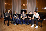 "Kevin Richardson, Howie Dorough, Nick Carter,  AJ McLean and Brian Littrell of the Backstreet Boys attend their new music album ""In A World Like This"" presentation at Palace Hotel on November 12, 2013 in Madrid, Spain. (ALTERPHOTOS/Victor Blanco)"
