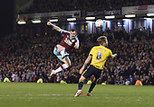 19/04/2016 Sky Bet League Championship  Burnley v Middlesbrough<br /> Dean Marney fires over