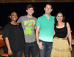 "Natalie Venetia Belcon, Jake Boyd, John Bolton & Farah Alvin attending the Meet & Greet for 'The Last Smoker In America'"" at the New 42nd Street Studios in New York City on June 21, 2012"