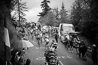 up the Mont&eacute;e de Bisanne (HC/1723m/12.4km/8.2%)<br /> <br /> Stage 19:  Albertville &rsaquo; Saint-Gervais /Mont Blanc (146km)<br /> 103rd Tour de France 2016