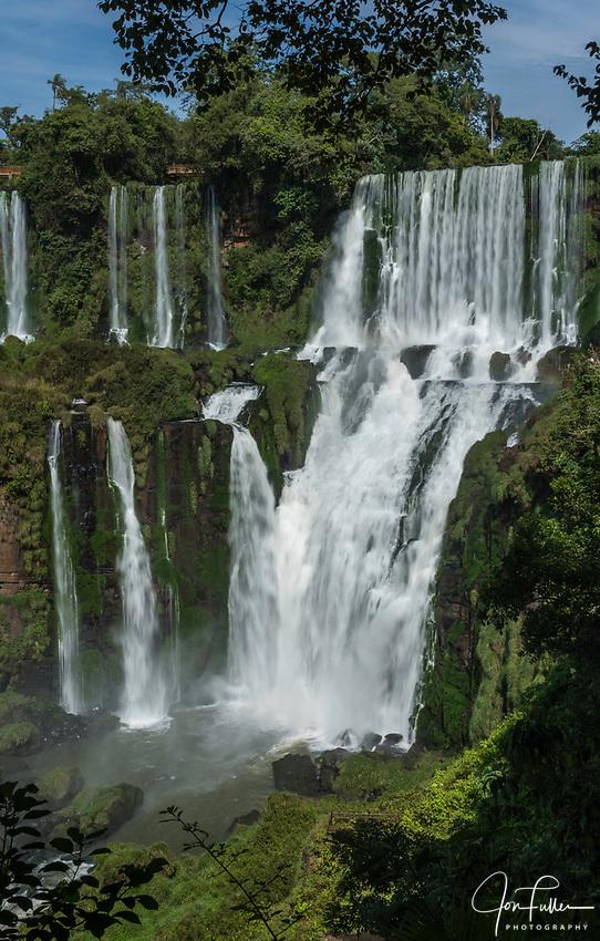 Bossetti Falls at Iguazu Falls National Park in Argentina.  A UNESCO World Heritage Site.