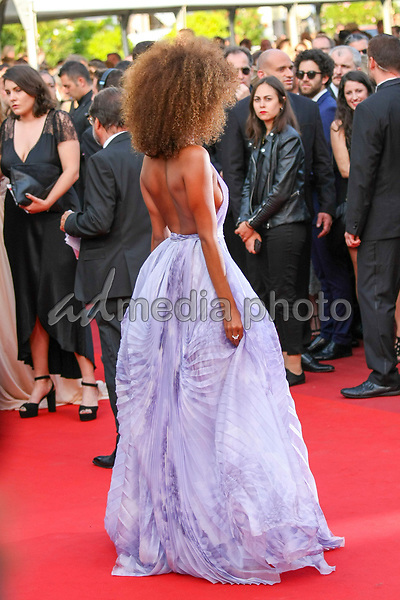 "24 May 2017 - Cannes, France - Tina Kunakey . ""The Beguiled"" Premiere during the 70th Cannes Film Festival. Photo Credit: GeorgWenzel/face to face/AdMedia"
