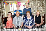 Maurice Spillane and Kathleen Spillane, from Castlegregory both celebrate their 70th Birthday with Family and friends at the Meadowlands Hotel on Sunday. Pictured Front l-r Bred Spillane, Maurice Spillane, Kathleen Spillane, Anne Marie Spillane Back l-r Kevin Spillane and Dominic Spillane