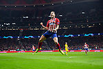 Saul Niguez of Atletico de Madrid during the match between Atletico de Madrid and Borussia Dortmund of UEFA Champions League 2018-2019, group A, date 4 played at the Wanda Metropolitano Stadium. Madrid, Spain, 6 NOV 2018.