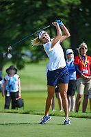 Lexi Thompson (USA) watches her tee shot on 12 during the round 1 of the KPMG Women's PGA Championship, Hazeltine National, Chaska, Minnesota, USA. 6/20/2019.<br /> Picture: Golffile | Ken Murray<br /> <br /> <br /> All photo usage must carry mandatory copyright credit (© Golffile | Ken Murray)