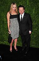 NEW YORK, NY - NOVEMBER 13: Tracy Pollan, Michael J. Fox attends the 2017 Museum of Modern Art Film Benefit Tribute to herself at Museum of Modern Art on November 13, 2017 in New York City. Credit: John Palmer/MediaPunch