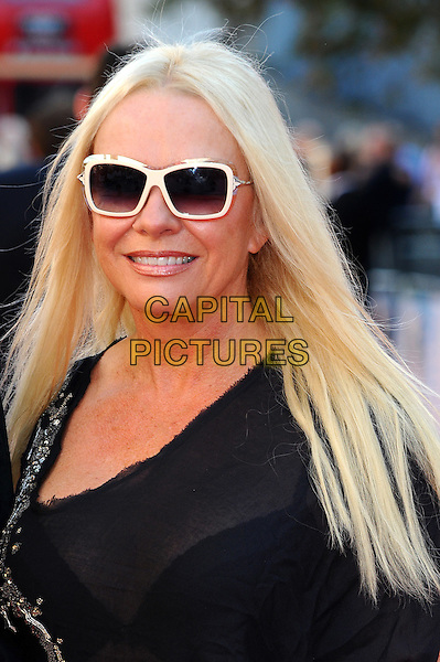 Pamela Stephenson.Arrivals to the UK Premiere of 'George Harrison: Living In The Material World' at BFI Southbank, London, England..October 2nd, 2011.headshot portrait black sunglasses shades.CAP/CJ.©Chris Joseph/Capital Pictures.