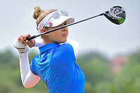 Nelly Korda (USA) watches her tee shot on 9 during round 2 of  the Volunteers of America Texas Shootout Presented by JTBC, at the Las Colinas Country Club in Irving, Texas, USA. 4/28/2017.<br /> Picture: Golffile   Ken Murray<br /> <br /> <br /> All photo usage must carry mandatory copyright credit (&copy; Golffile   Ken Murray)
