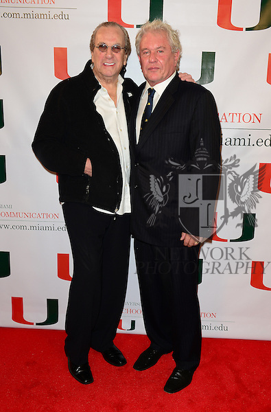 CORAL GABLES, FL - NOVEMBER 20: Danny Aiello and Tom Berenger attend the premiere screening Of 'Reach Me' Hosted by University Of Miami inside the BankUnited Center Fieldhouse at University of Miami on Thursday November 20, 2014 in Coral Gables, Florida. (Photo by Johnny Louis/jlnphotography.com)