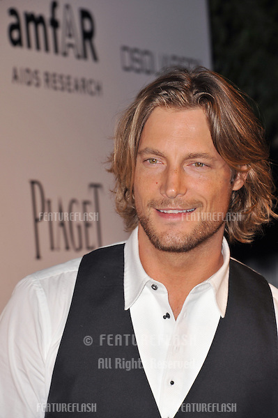 Gabriel Aubry at the launch of amfAR's L.A. Event celebrating Men's Style at the Chateau Marmont Hotel, West Hollywood..October 27, 2010  Los Angeles, CA.Picture: Paul Smith / Featureflash
