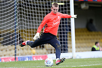 Patrik Gunnarsson of Southend United before Southend United vs Bristol Rovers, Sky Bet EFL League 1 Football at Roots Hall on 7th March 2020