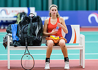 Wateringen, The Netherlands, March 16, 2018,  De Rhijenhof , NOJK 14/18 years, Nat. Junior Tennis Champ.  Gabri&euml;lle Dekkers (NED)<br />  Photo: www.tennisimages.com/Henk Koster