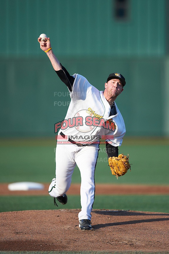 South Bend Silver Hawks pitcher Archie Bradley #25 during a Midwest League game against the West Michigan Whitecaps at Coveleski Stadium on August 15, 2012 in South Bend, Indiana.  West Michigan defeated South bend 7-1.  (Mike Janes/Four Seam Images)