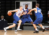 Kyle Wiltjer at the NBPA Top100 camp June 18, 2010 at the John Paul Jones Arena in Charlottesville, VA. Visit www.nbpatop100.blogspot.com for more photos. (Photo © Andrew Shurtleff)