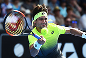 10th January 2018, ASB Tennis Centre, Auckland, New Zealand; ASB Classic, ATP Mens Tennis;  David Ferrer (ESP) during the ASB Classic ATP Men's Tournament Day 3