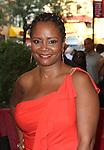 Tonya Pinkins.attending the opening night of the Broadway limited engagement of 'Fela!' at the Al Hirschfeld Theatre on July 12, 2012 in New York City.
