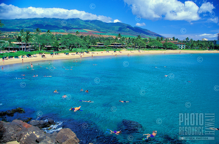 Kaanapali beach, Maui, West coast