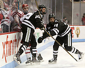 Brandon Hickey (BU - 4), Conor MacPhee (PC - 29), Chase Zieky (PC - 14) - The Boston University Terriers tied the visiting Providence College Friars 2-2 on Saturday, December 3, 2016, at Agganis Arena in Boston, Massachusetts.