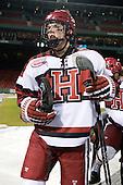 John Caldwell (Harvard - 15) - The Union College Dutchmen defeated the Harvard University Crimson 2-0 on Friday, January 13, 2011, at Fenway Park in Boston, Massachusetts.
