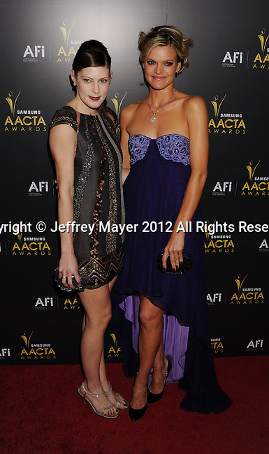 WEST HOLLYWOOD, CA - JANUARY 27: Meredith Pyle and Missi Pyle  attend the 2012 Australian Academy Of Cinema And Television Arts Awards at Soho House on January 27, 2012 in West Hollywood, California.