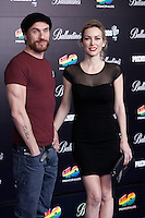 Macaco and Kira Miro attends 40 Principales awards photocall  2012 at Palacio de los Deportes in Madrid, Spain. January 24, 2013. (ALTERPHOTOS/Caro Marin) /NortePhoto