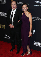 BEVERLY HILLS, CA, USA - OCTOBER 30: Robert Duvall, Luciana Pedraza arrive at the 2014 BAFTA Los Angeles Jaguar Britannia Awards Presented By BBC America And United Airlines held at The Beverly Hilton Hotel on October 30, 2014 in Beverly Hills, California, United States. (Photo by Xavier Collin/Celebrity Monitor)