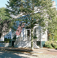 Exterior of a colonial house in Nantucket