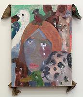 Llorando se fue, Alex Gibbs, Painting, 2016
