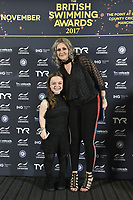 Picture by Allan McKenzie/SWpix.com - 04/11/17 - Swimming - British Swimming Awards 2017 - The Poiint, Lancashire County Cricket Ground, Manchester, England - Maisie Summers-Newton on the red carpet.
