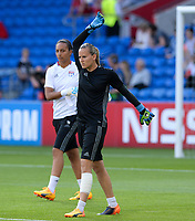 20170601 - CARDIFF , WALES : Lyon's Meline Gerard pictured during a womensoccer match between the teams of  Olympique Lyonnais and PARIS SG, during the final of the Uefa Women Champions League 2016 - 2017 at the Cardiff City Stadium , Cardiff - Wales - United Kingdom , Thursday 1  June 2017 . PHOTO SPORTPIX.BE | DAVID CATRY