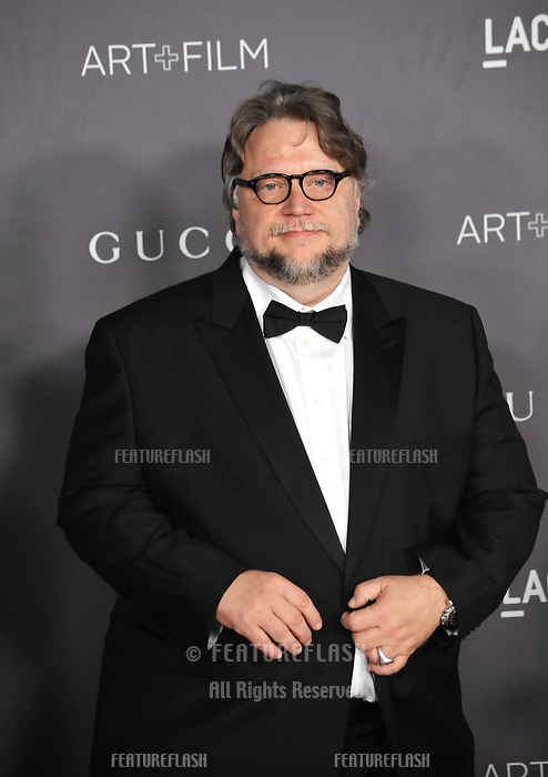 Guillermo del Toro at the 2017 LACMA Art+Film Gala at the Los Angeles County Museum of Art, Los Angeles, USA 04 Nov. 2017<br /> Picture: Paul Smith/Featureflash/SilverHub 0208 004 5359 sales@silverhubmedia.com