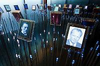 Norwegen, Oslo, Nobel-Garten im Nobel Fredssenter